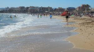 Malorka / Mallorca - Pláž Platja de Palma / S'Arenal