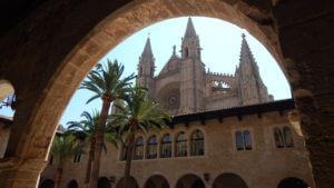 Palma de Mallorca - Kráľovský palác La Almudaina