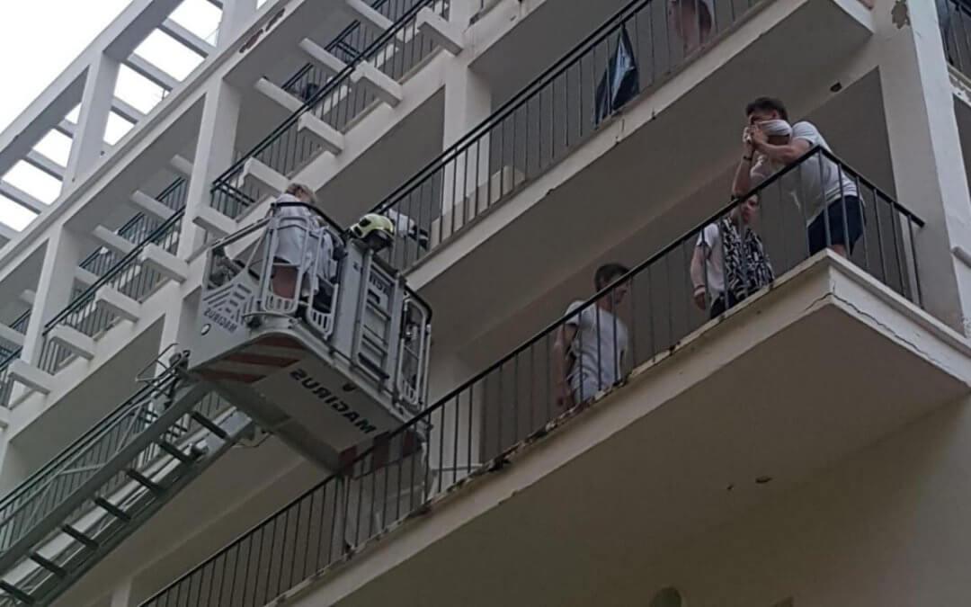Požiar hotela na Malorke