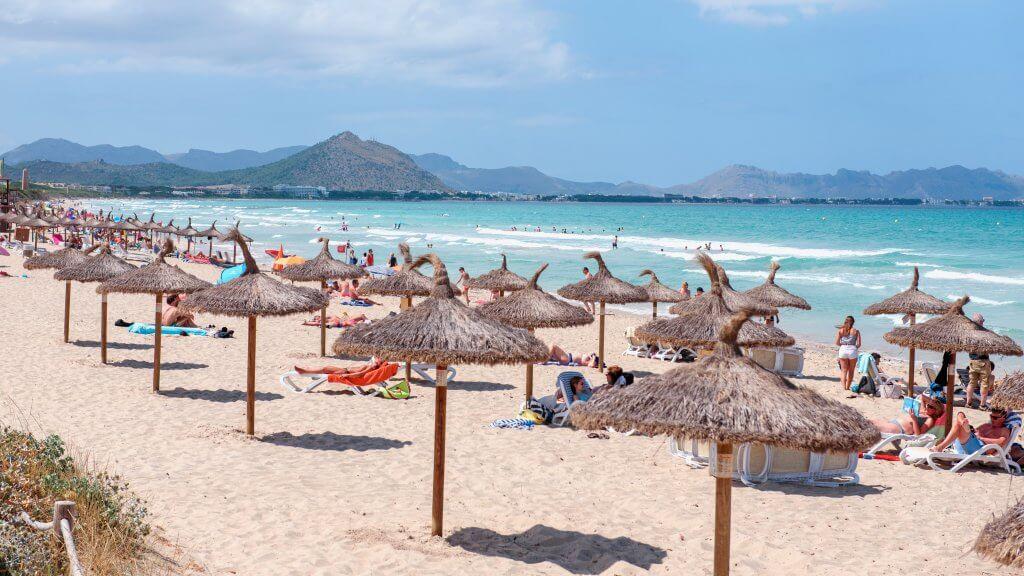 Pláž Muro - Playa del Muro blízko Can Picafort / Malorka.sk