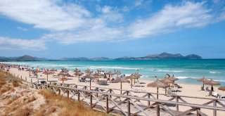 Pláž Muro - Playa del Muro v zálive Alcudia blízko pri Can Picafort / Malorka.sk